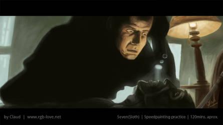 Speedpainting (Seven, Sloth)