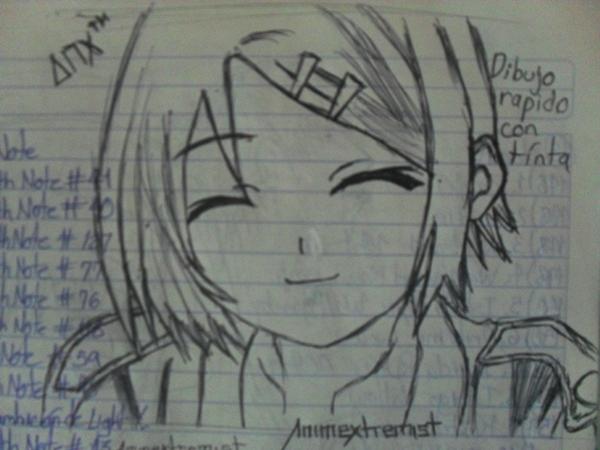 Anime Para Dibujar a Lapiz Paso a Paso Anime Para Dibujar Fácil a