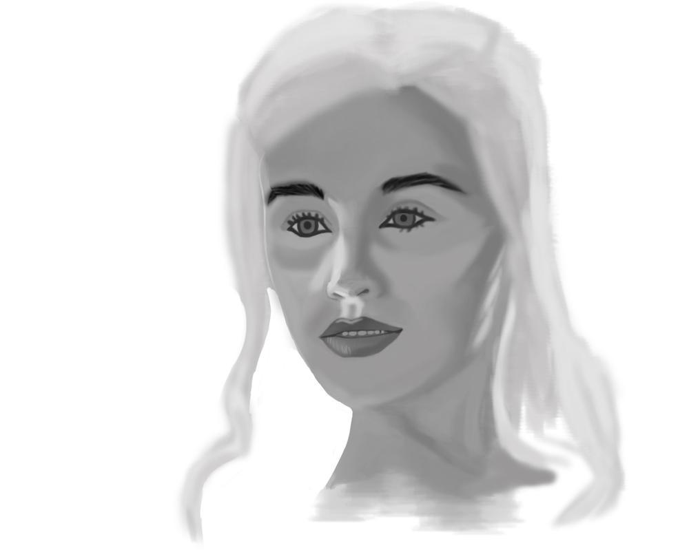 Portrait practice by BannedFiveToOne