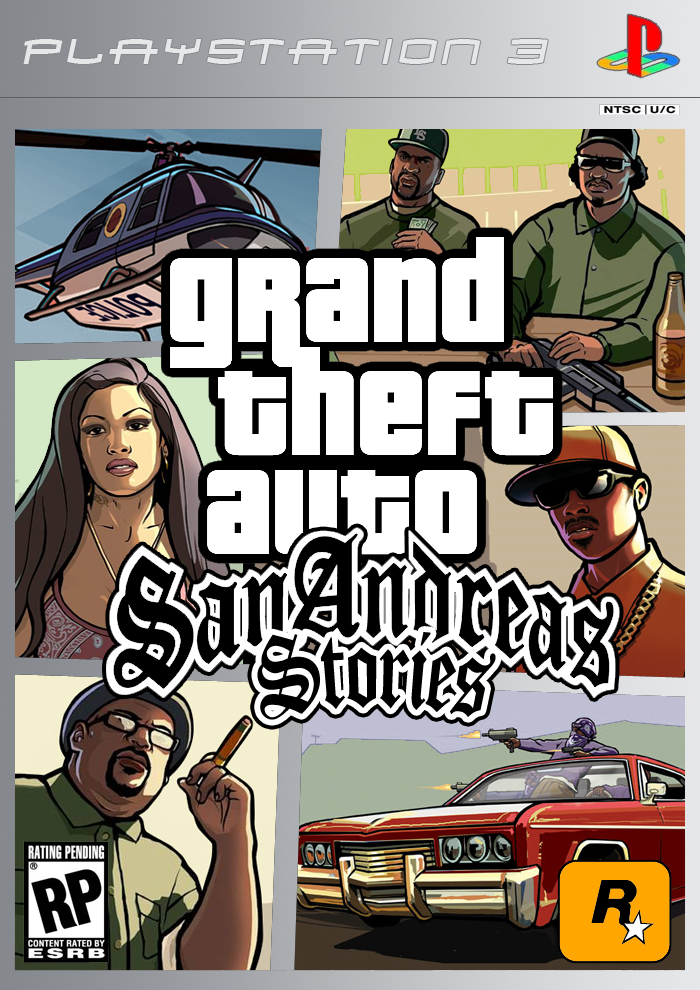 Grand Theft Auto: San Andreas Stories PSP Box Art Cover by ... |Grand Theft Auto San Andreas Stories