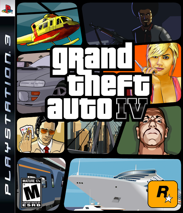 GTA IV Box Art: Edition 2 by SlimTrashman