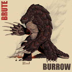 Brutish Burrower