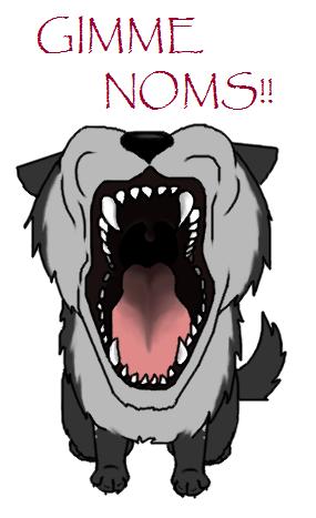 Gimme NOMs by crazylunagirl
