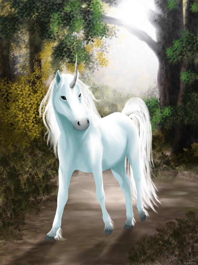 Unicorn Forest by crazylunagirl