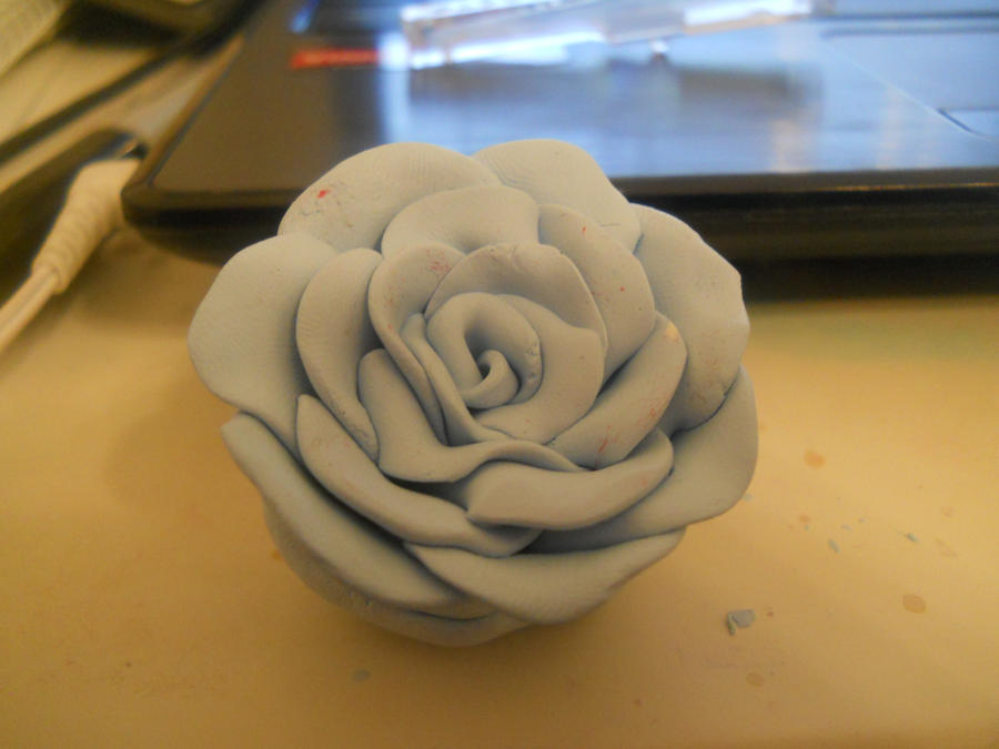Flower Made Out Of Clay By Hellokittygirl11 On Deviantart What To Make