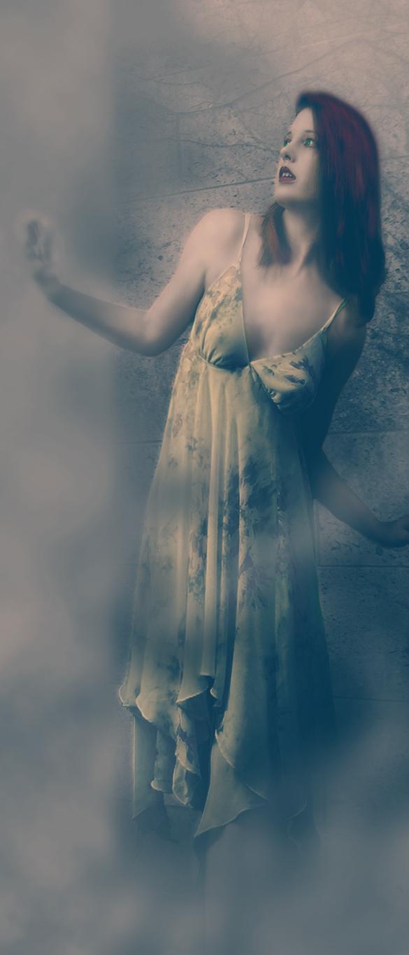 Sabine in Fog by Earendilgrey
