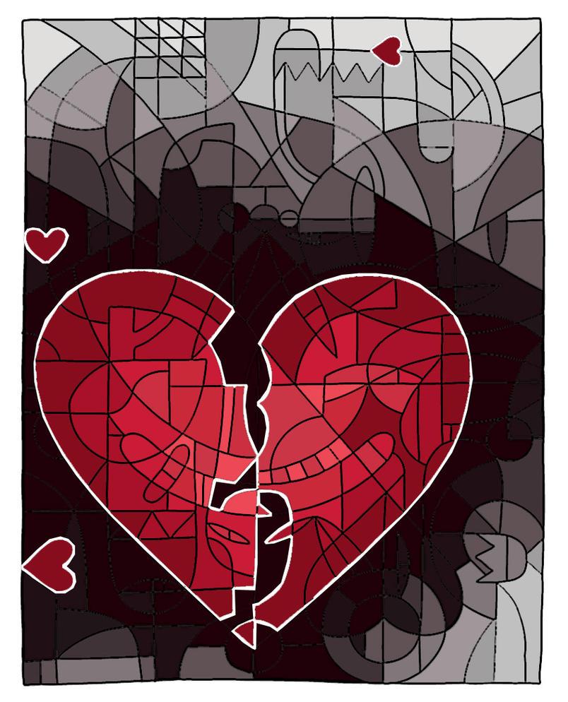 broken heart by duribubu