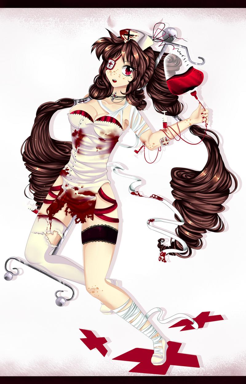 Nurse by Purrinee