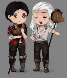 The Witcher -- My horse is the best! by Purrinee