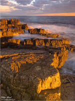 Golden Rocks by Philippe-Albanel