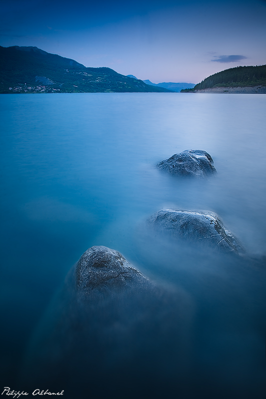 Blue Escape by Philippe-Albanel