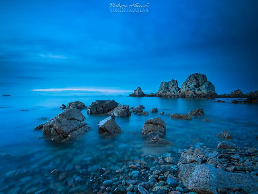 Blue Awaken by Philippe-Albanel