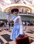 Bye bye. Go study tour. by iwahoshi