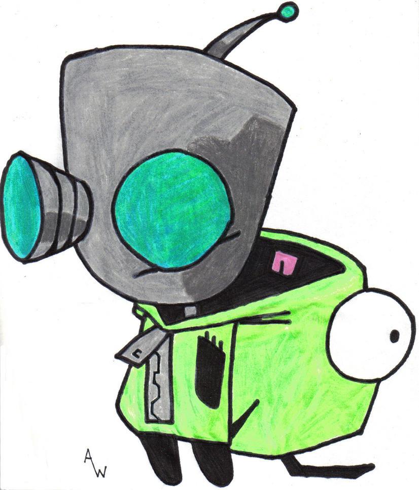 Invader Zim Gir Robot Invader Zim's GIR Comp...