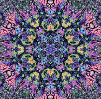 Mandala Jim's Mandala Colored By Crazyruthie remix by Valpigle