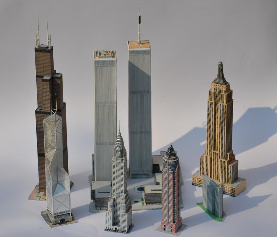 Empire State Building D Model