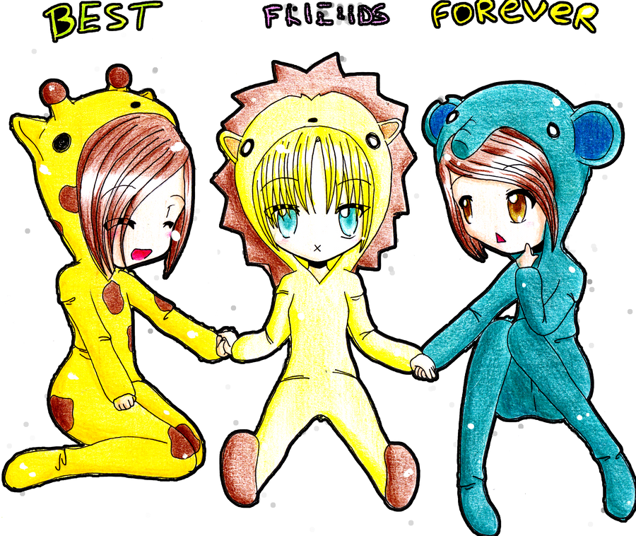 best friends forever by fuumika on DeviantArt