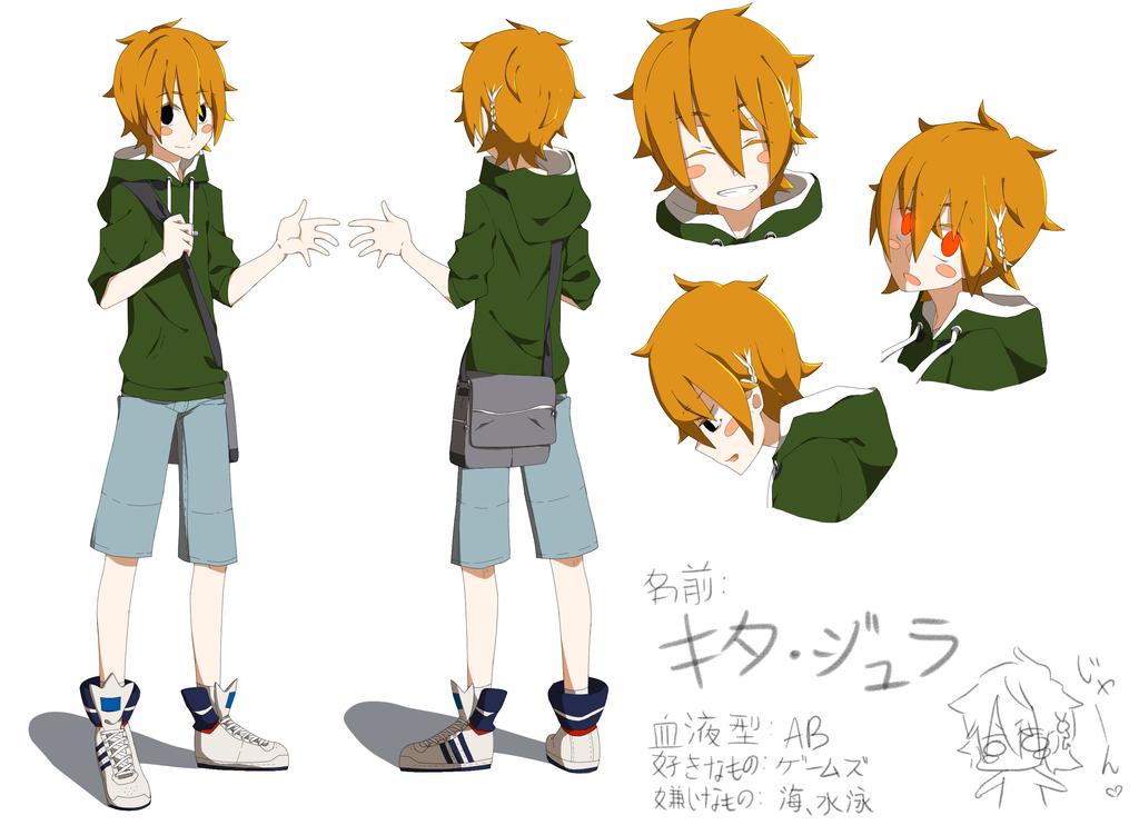 G Anime Character : Anime character sheet thingamajiggy by fuumika on deviantart