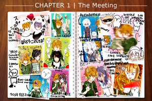 HH: chapter 1 - the meeting [+300exp] by fuumika