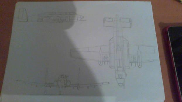 CAC Wombat Attack Aircraft.