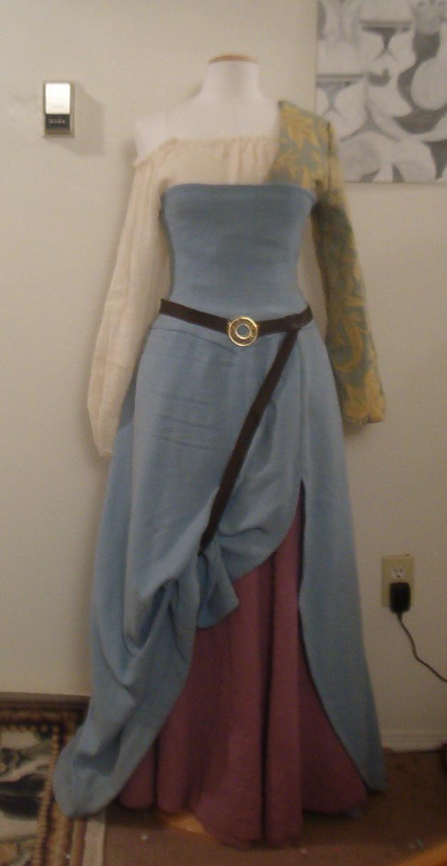 Archer Dress-Complete for now by FenigDurak