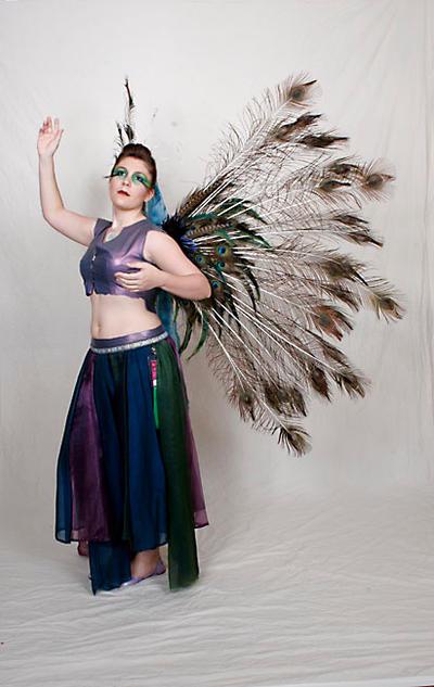 Peacock Faerie V2 by FenigDurak
