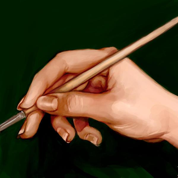 013 Hand Study by AyameFataru