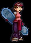Akari Hayami by FlintofMother3