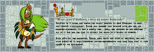 Ichuel bio by FlintofMother3