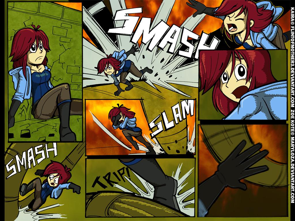 Kaira vs Zoe 5 by FlintofMother3