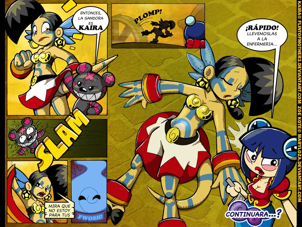 Kaira vs Zoe 7 by FlintofMother3