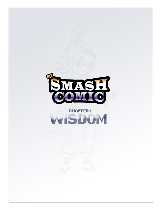 Smash Comic WISDOM 1-0 by FlintofMother3
