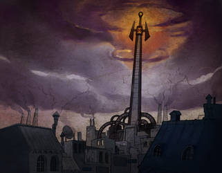 Torre de Fausto by FlintofMother3