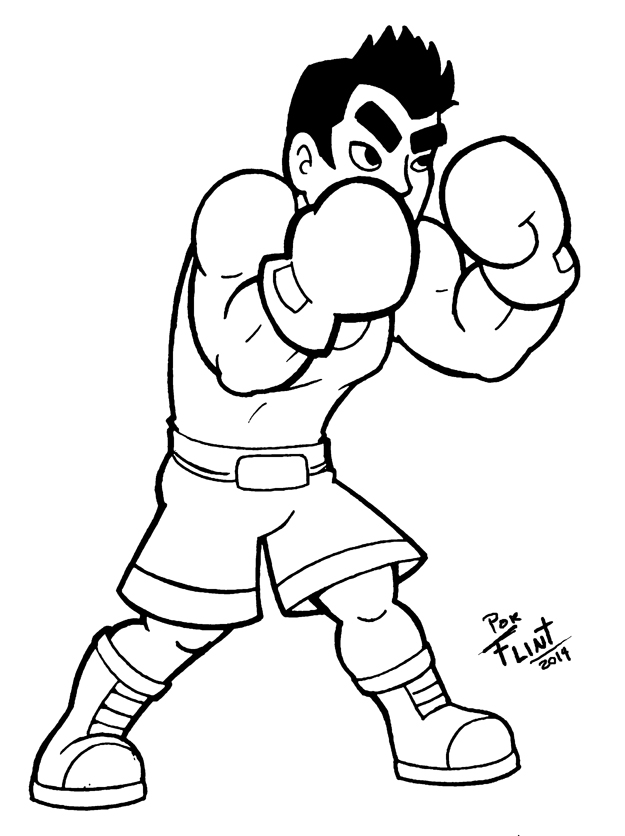 Little mac by flintofmother3 on deviantart for S mac coloring pages