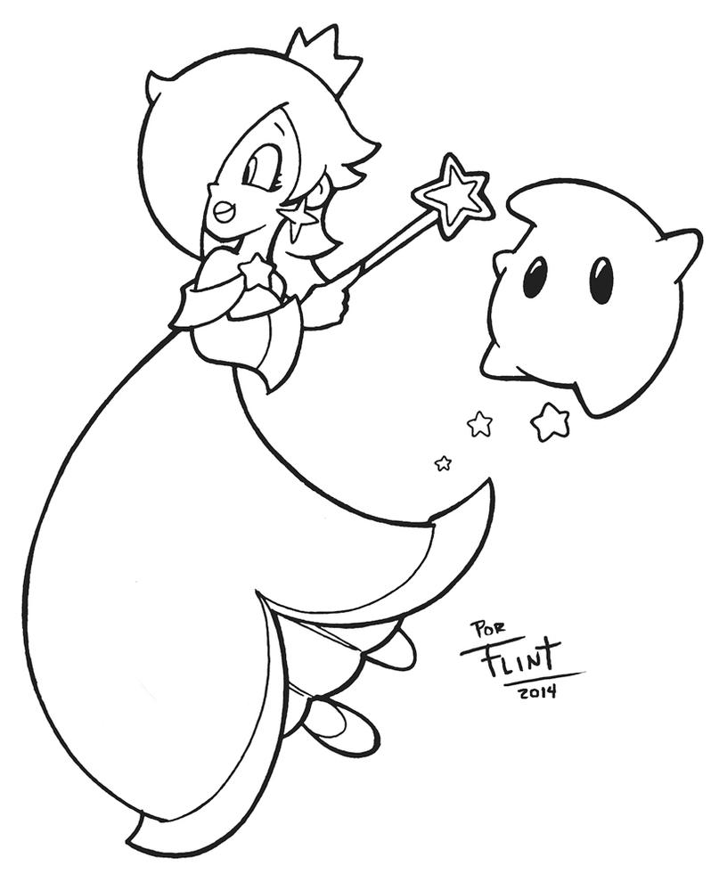 Rosalina by FlintofMother3 on DeviantArt