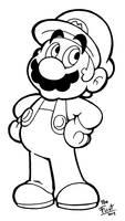 Mario by FlintofMother3
