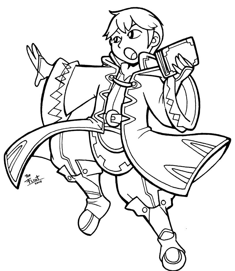 Robin male by FlintofMother3