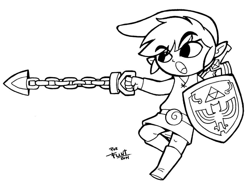 Toon Link by FlintofMother3 on DeviantArt