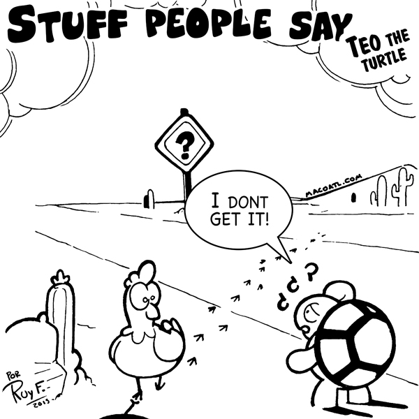 Stuff people say 105 by FlintofMother3