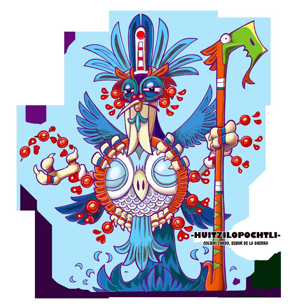 Huitzilopochtli By Flintofmother3 On Deviantart