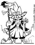 INKTOBER 01 Witch