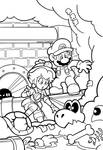 SMB the movie coloring book REMAKE 07