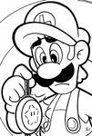 SMB the movie coloring book REMAKE 10