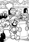 SMB the movie coloring book REMAKE 24
