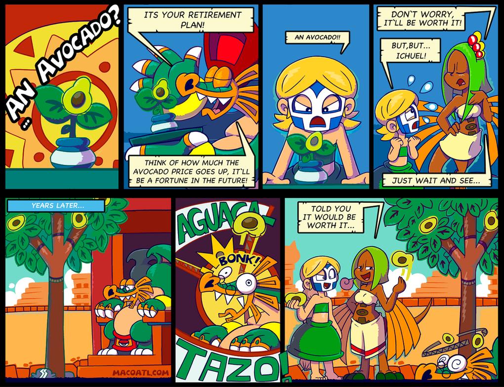20 Avocado by FlintofMother3