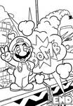 SMB the movie coloring book REMAKE 56