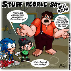 Stuff people say 331 by FlintofMother3
