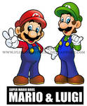 SUPER MARIO BROS MARIO AND LUIGI