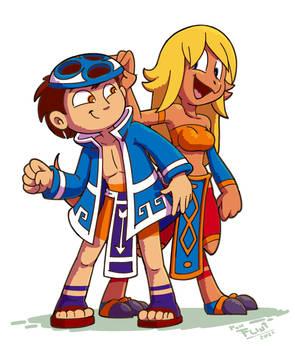 Dan and Kiza