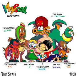 31 the staff